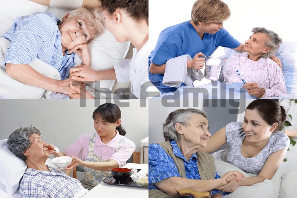 cách chăm người già ốm