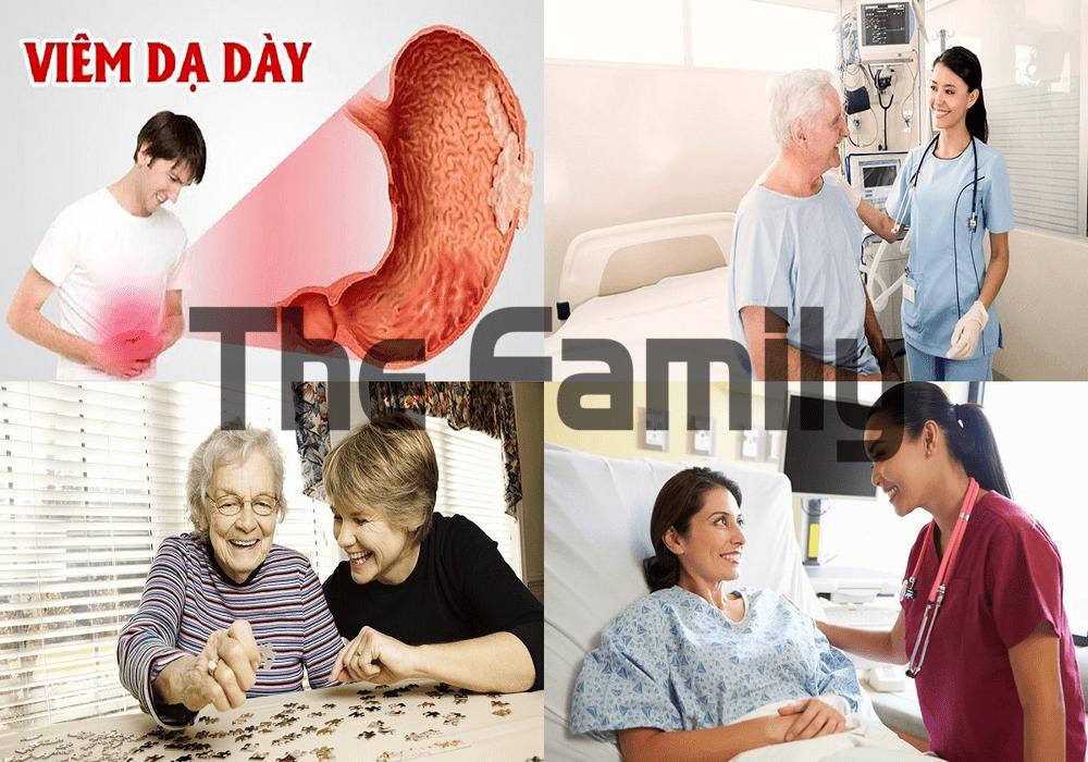 Chăm sóc người bệnh viêm dạ dày