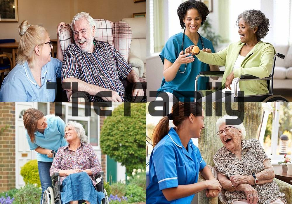Chăm sóc người già tại bệnh viện Hồng Đức