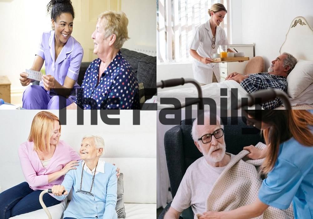 Trông người bệnh tại bệnh viện Hồng Đức
