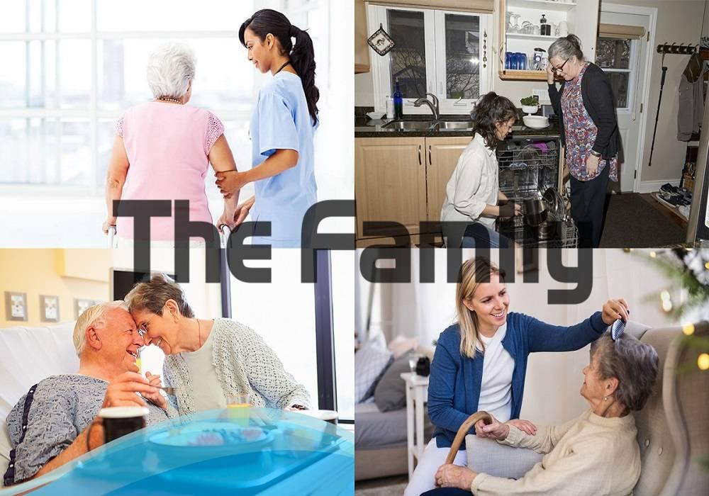 Chăm sóc người cao tuổi tại Hồng Ngự