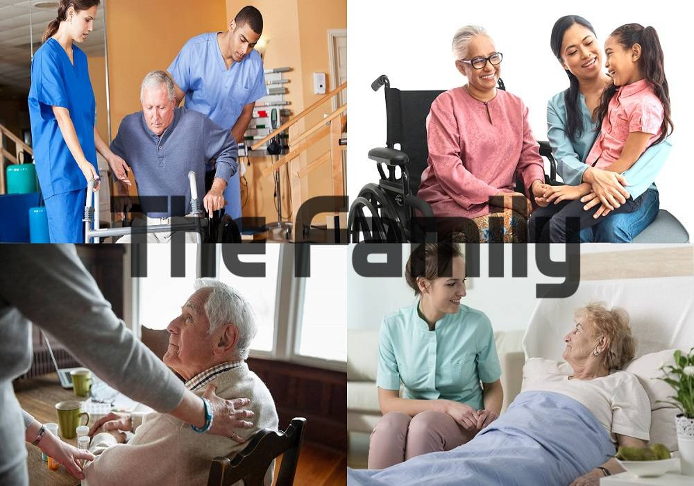 Chăm sóc người già tại tại Ngã Bảy