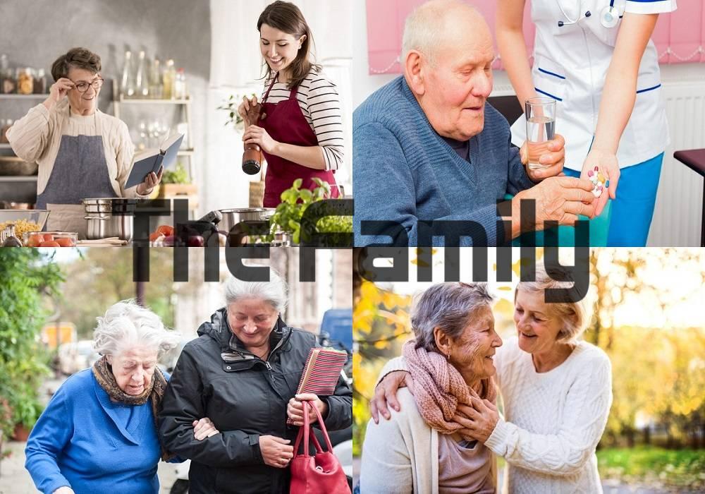 Chăm sóc người cao tuổi tại Đồng Xoài
