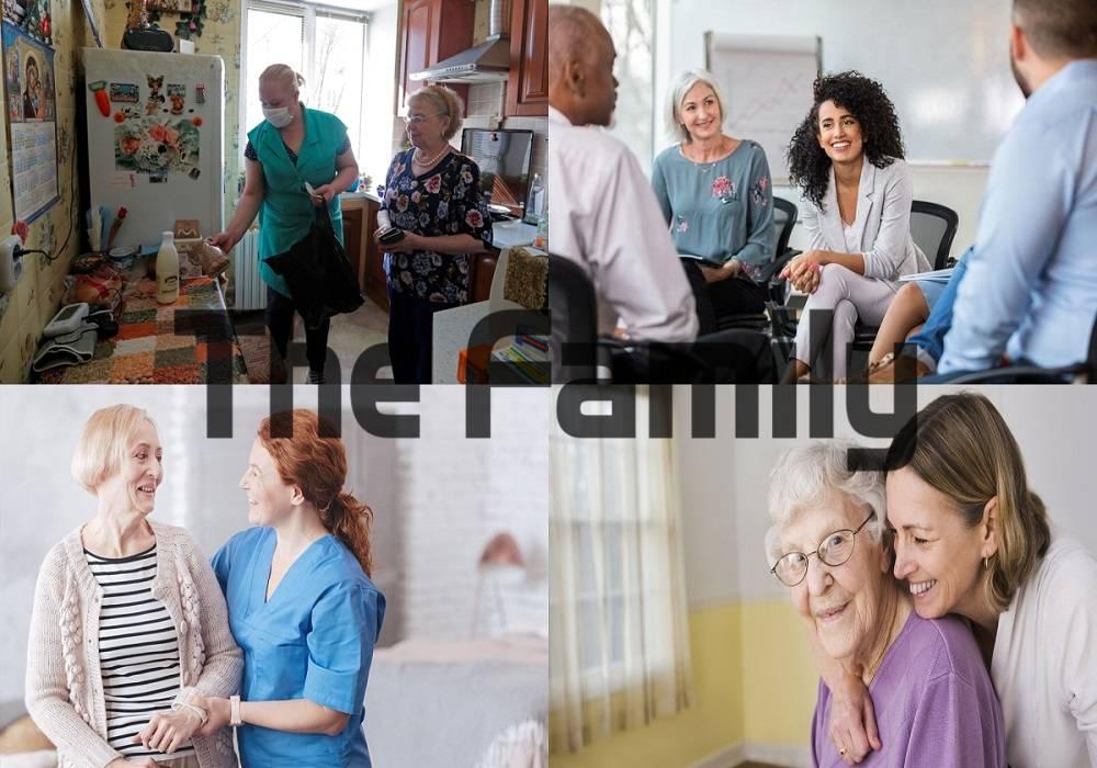 Chăm sóc người cao tuổi tại Vinh