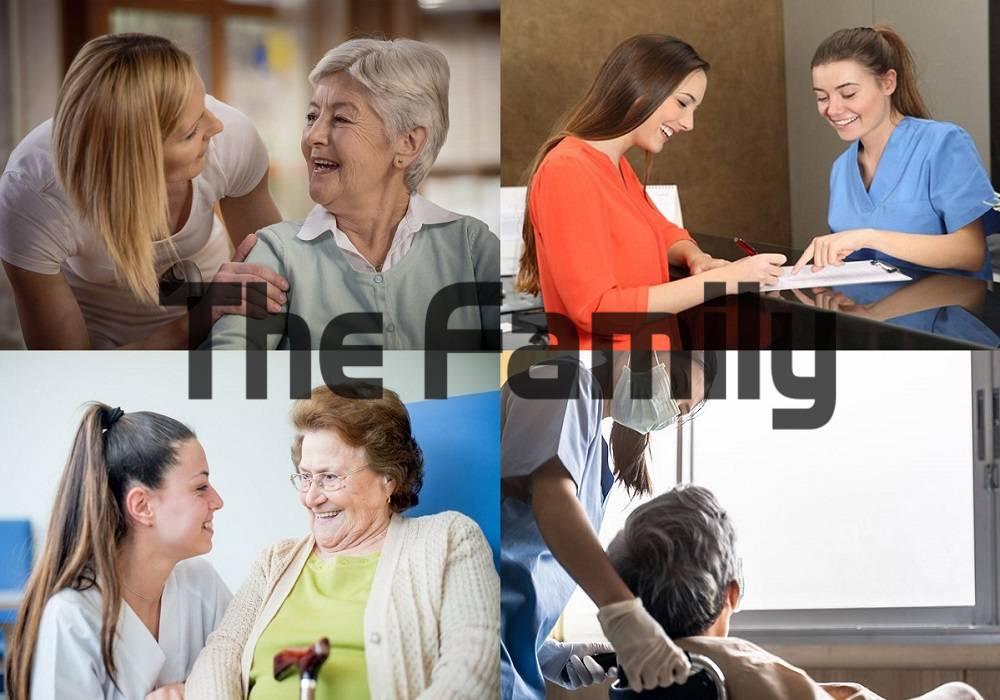 Chăm sóc người già tại Dĩ An